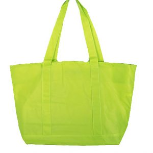 tote bags, Bright Green tote bags, Bright Green shopping bags