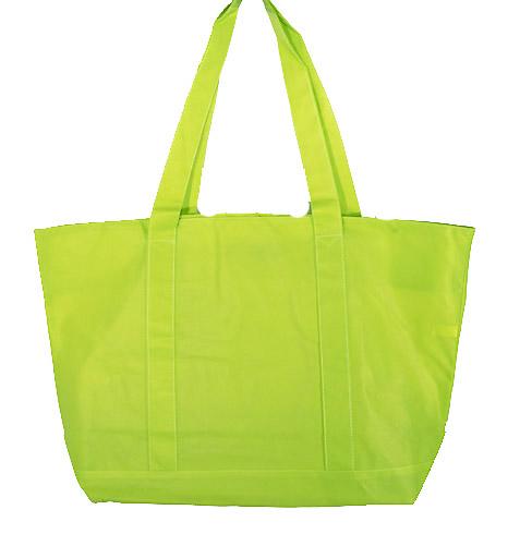 tote bags, Bright Green tote bags, Bright Green shopping bags