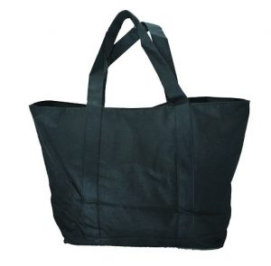black tote bag. tote bag