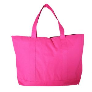 "Tote Bag. Heavy weight ""Polyester"" material. Solid color."